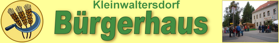 Kleinwaltersdorf Bürgerhaus